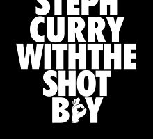 Steph Curry With The Shot Boy [White] by owned