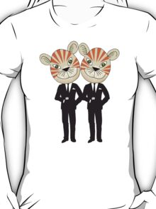 Tiger Twins are there for you T-Shirt