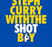 Steph Curry With The Shot Boy [Yellow/Gold] by owned