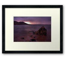 Anthrax Bay Framed Print