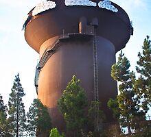 San Diego Water Tower by heatherfriedman