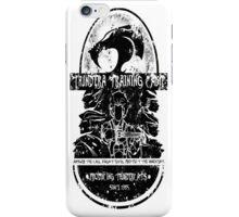 Thundera Training Camp (white) iPhone Case/Skin