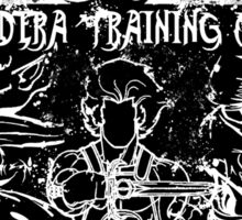 Thundera Training Camp (white) Sticker