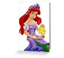 Ariel The Little Mermaid Greeting Card