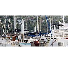 Seaport Marina - Launceston, Tasmania Photographic Print