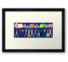 Celebrate Diversity Framed Print