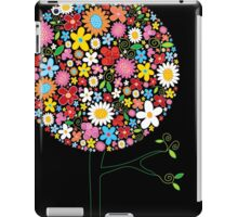 Whimsical Colorful Spring Flowers Pop Tree II iPad Case/Skin