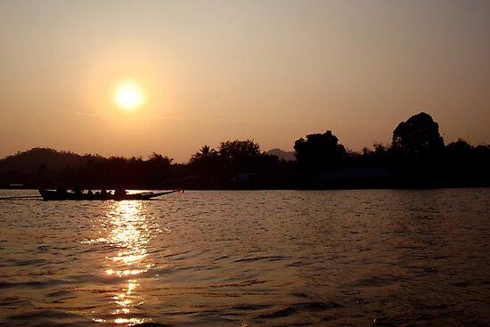 Kanchanaburi Sunset by Equinox