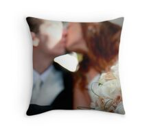 A Beautiful Kiss Throw Pillow