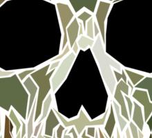 Geometric Skull Sticker