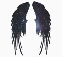 Angel Plain Galaxy Wings by iSharnie