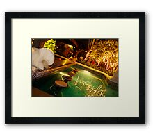 Karon Beach Resort Bar Framed Print
