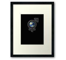 all earth Framed Print