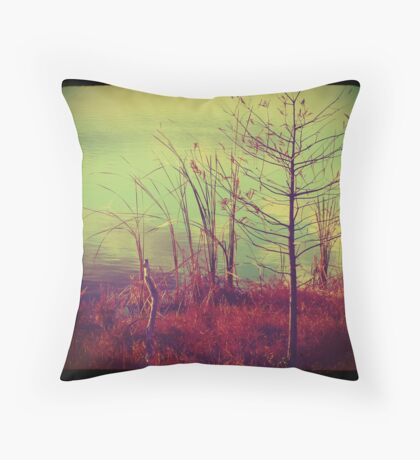 Bush by the Water ttv Throw Pillow