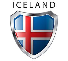 Iceland Shield - Full Size Photographic Print