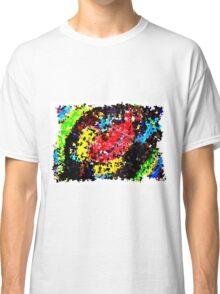 Impressionistic frog colour print Classic T-Shirt