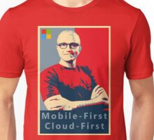 Satya Mobile First Cloud First Street Poster Unisex T-Shirt