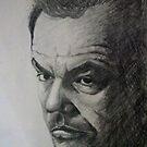 Jack Nicholson by Paula Busto