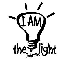 JOHN 9:5  I AM THE LIGHT by Calgacus