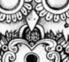 Vintage Owl Sticker