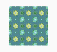 Abstract green flowers pattern Unisex T-Shirt