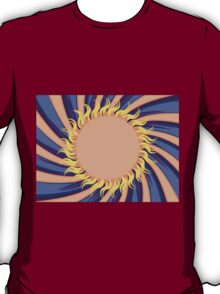 Abstract sunny background T-Shirt