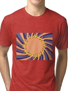 Abstract sunny background Tri-blend T-Shirt