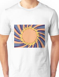 Abstract sunny background Unisex T-Shirt
