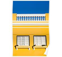 Yellow house Poster