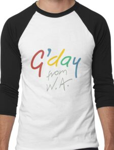 G'day from WA Men's Baseball ¾ T-Shirt