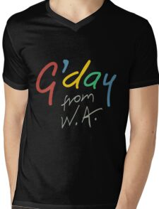G'day from WA Mens V-Neck T-Shirt