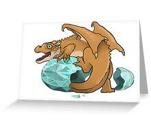 Baby Dragon! Greeting Card