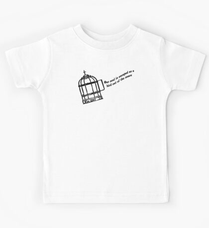 PSALMS  124:7 Our soul is escaped Kids Tee