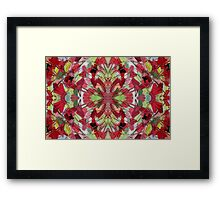 Abscission No. 1 Pattern Framed Print