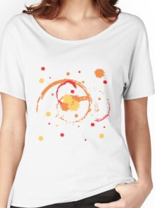 Colorful Brush Strokes Women's Relaxed Fit T-Shirt