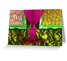 Goblet Framed Greeting Card