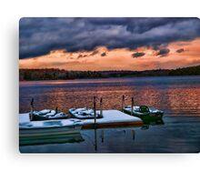 Lake Joseph Canvas Print