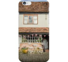 English Village Tea Rooms iPhone Case/Skin