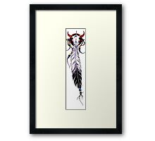 Indian Feather Framed Print