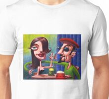 Swingin' Cats at the Hep Cafe Unisex T-Shirt