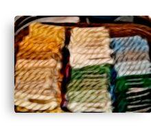 The Thread Basket Canvas Print