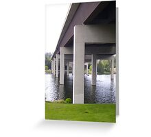 I-90 Bridge to Mercer Island Greeting Card