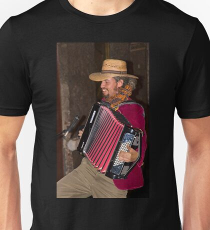Argentinian Accordion Player Unisex T-Shirt