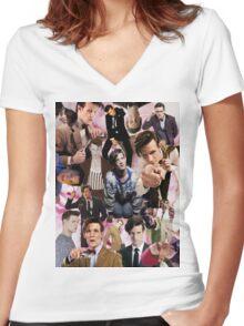 Ode to Matt Smith 2 Women's Fitted V-Neck T-Shirt
