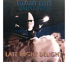 Late Night Delight by Luxury Elite and Saint Pepsi Photographic Print