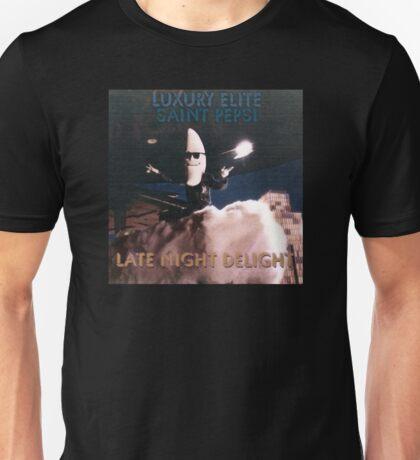 Late Night Delight by Luxury Elite and Saint Pepsi Unisex T-Shirt