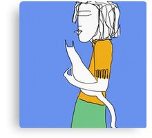 Cat carry. Canvas Print