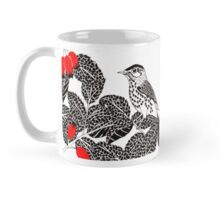 Birds In Rosehips  Mug