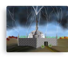 Lightning Repository - Renewable Energy?  Canvas Print