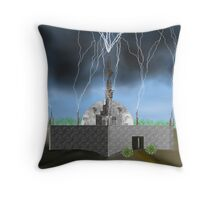 Lightning Repository - Renewable Energy?  Throw Pillow